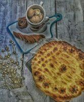 طرز تهیه نان سیب گردو دارچین ( نان پونچیک )