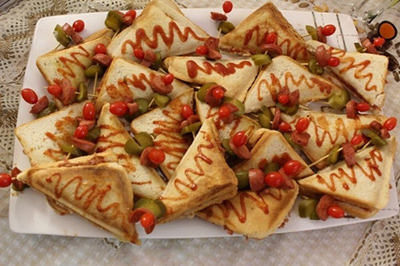 طرز تهیه اسنک پیتزا