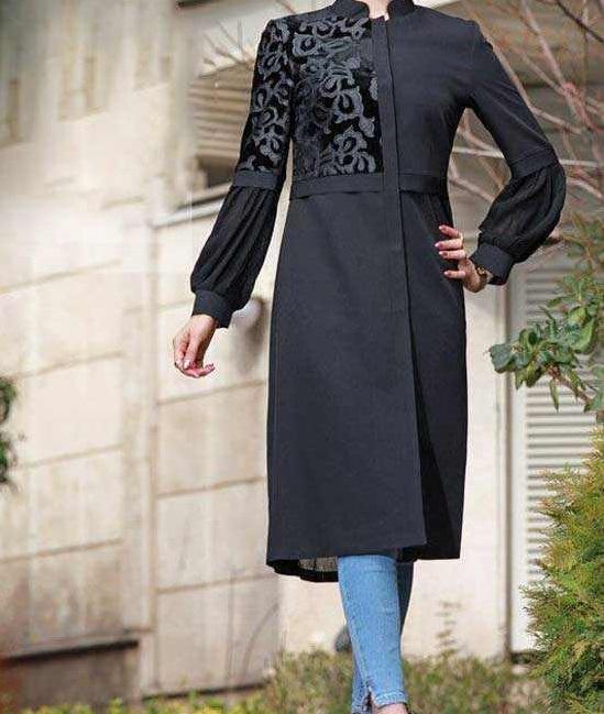 مدل های جدید مانتو فانوسی ( آستین فانوسی )