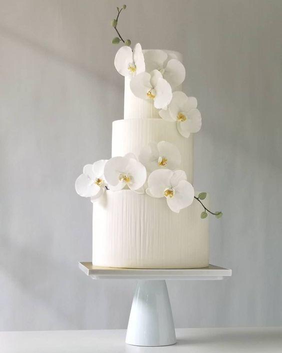 مدل کیک های عروسی و عقد زیبا 99