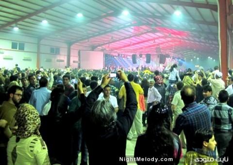 کنسرت خوانندگان لسآنجلسی در اربیل