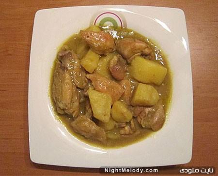 طرز تهیه خورش کاری مرغ ( غذای هندوستان )