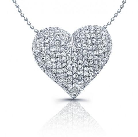 مدل گردنبند قلب 93