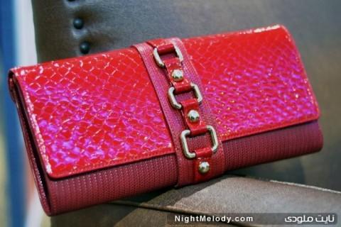 جدیدترین مدل های کیف دستی زنانه(صورتی)