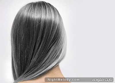 سفیدی زودرس مو ، دلیل سفید شدن مو ها و راه های مقابله با آن
