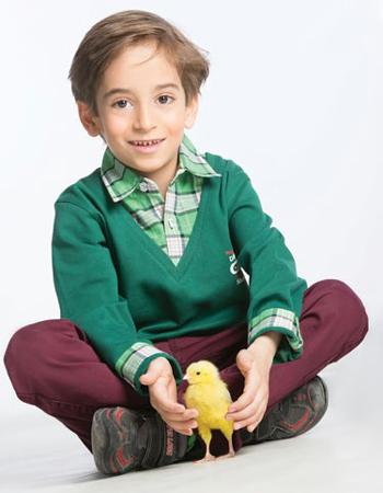 عرفان برزین بازیگر خردسال ایرانی