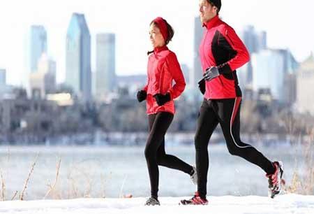 ۵ نکته برای دویدن در سرما